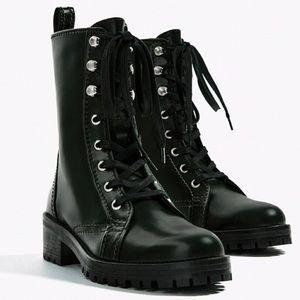 Cara Combat Military Boots